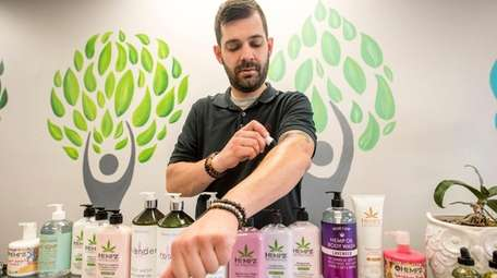 Jason DePietto, owner of Hemp Smarts Holistic Healing