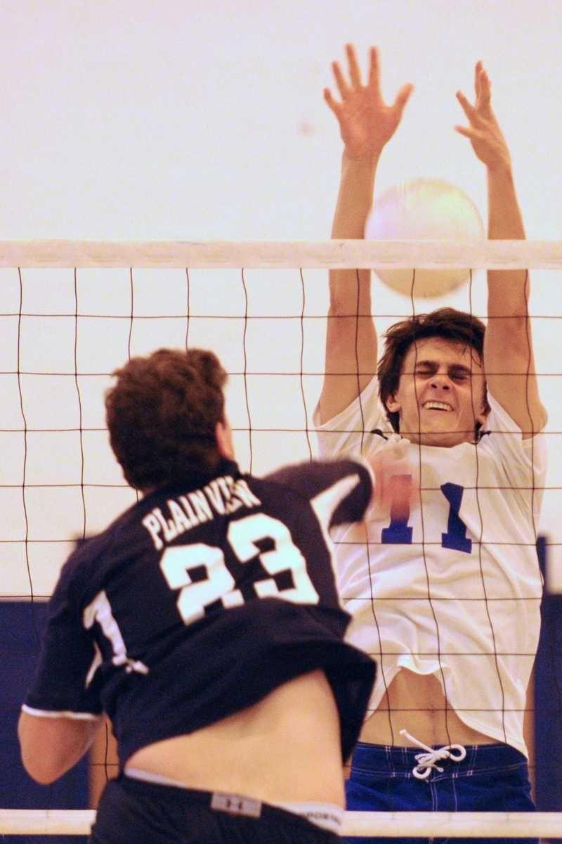 Port Washington High School junior #11 Daniel Minicucci,