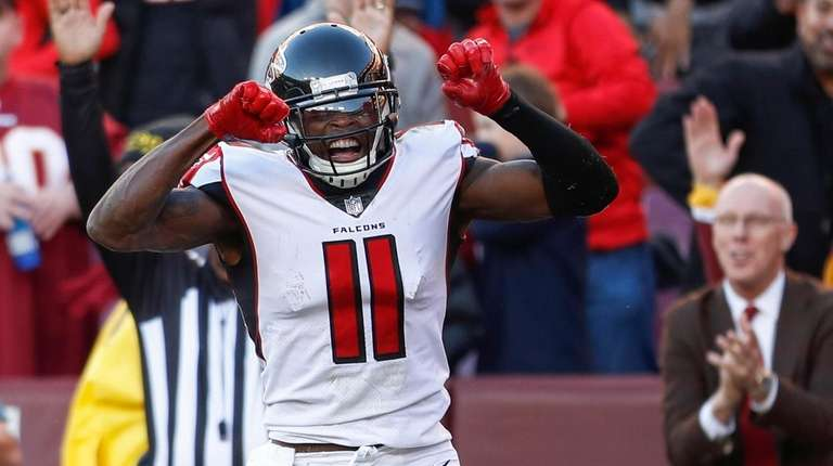 Julio Jones finally found the end zone in