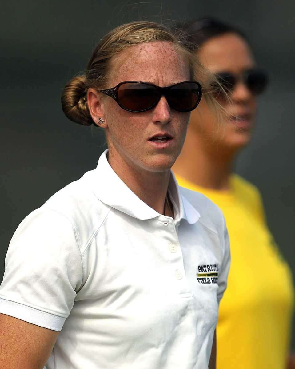 Ward Melville varsity field hockey head coach Shannon
