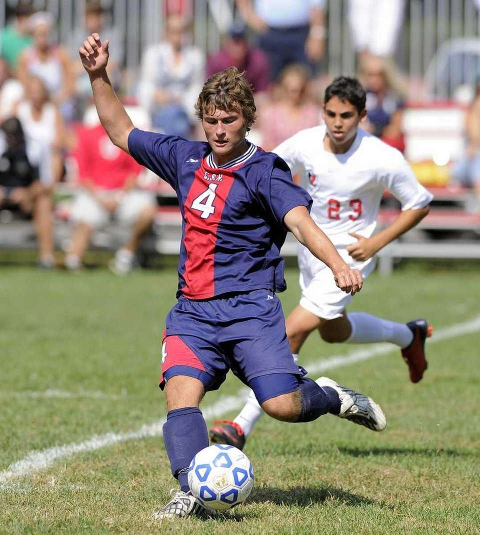 Cold Spring Harbors Colby Spehler beats Friends Academy's