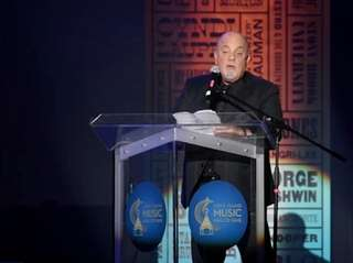 Billy Joel inducted his fellow Long Islander singer-songwriter