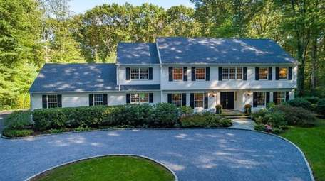 This Colonial is listed for $1.85 million.