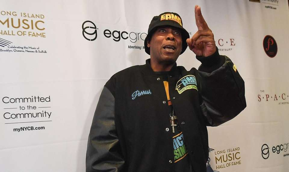 Parrish Smith of EPMD Walks the red carpet