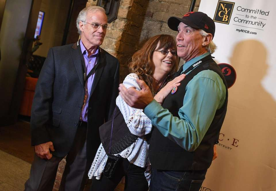 The Cowsills walk the red carpet during the