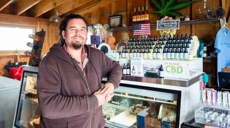 David Falkowski, owner of Open Minded Organics, a