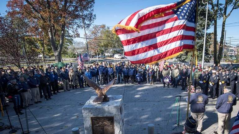 American Legion Greenlawn Post 1244 annual Veterans Day