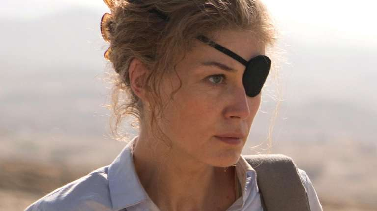 Rosamund Pike stars as East Norwich-raised journalist Marie