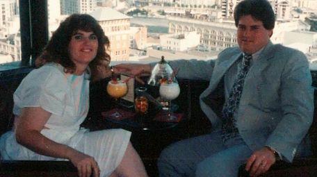 Elizabeth and John Farella of Bellmore on their