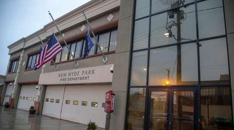 The New Hyde Park Fire Department on Nov.