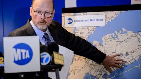 MTA Chairman Joe Lhota is leaving his position