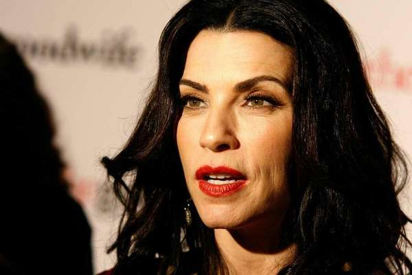 """""""The Good Wife"""" star Julianna Margulies attends the"""