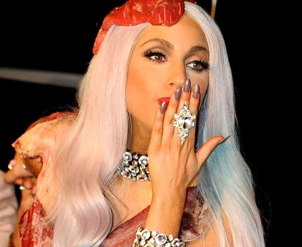 Lady Gaga, on Sept. 12, 2010.