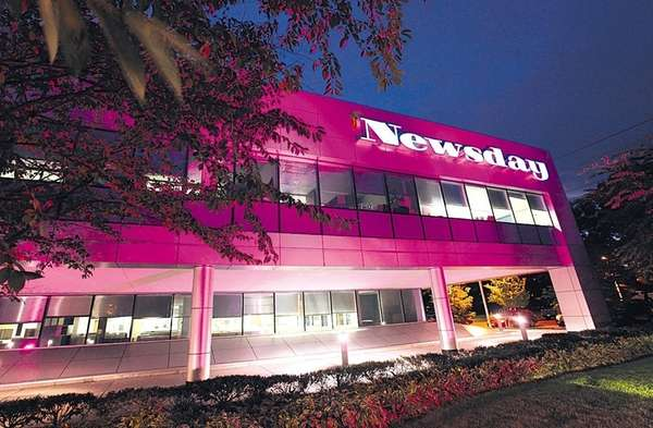 During the month of October, Newsday headquarters will