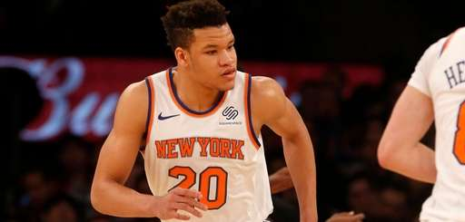 Kevin Knox #20 of the New York Knicks