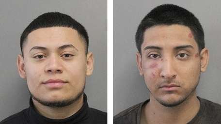 Carlos Alvarez-Contreras, left, is charged with third-degree assault.