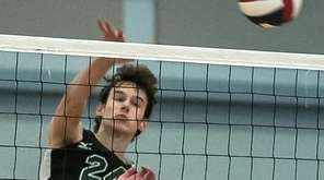 Kennedy High School Boys Volleyball team members led
