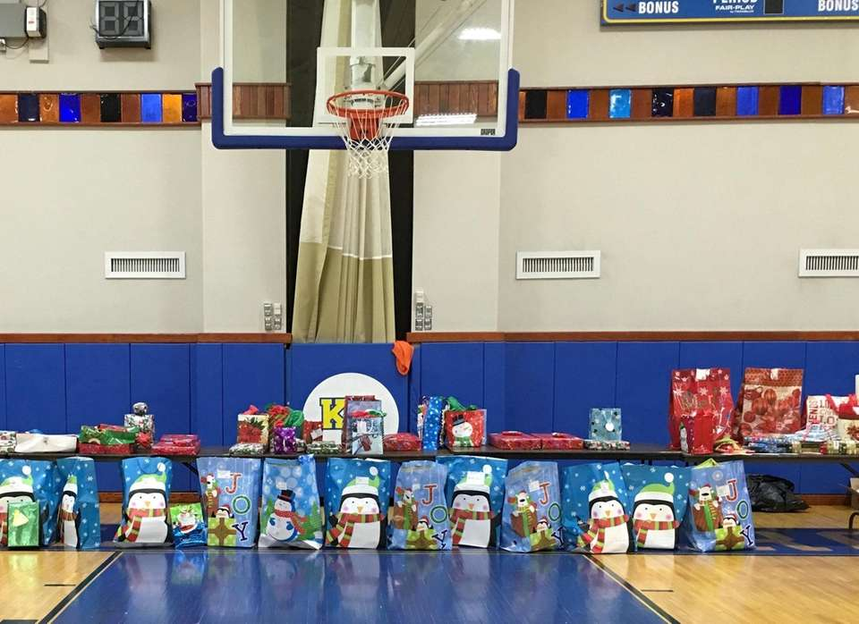 Bring new, unwrapped toys for children ages 7