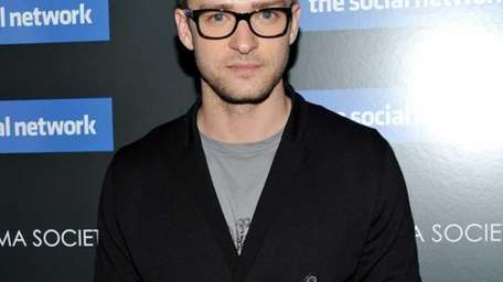 Actor Justin Timberlake attends a special screening of