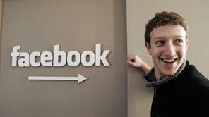 Facebook.com founder Mark Zuckerberg at Facebook headquarters in