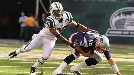 Jets defensive back Kyle Wilson has started to