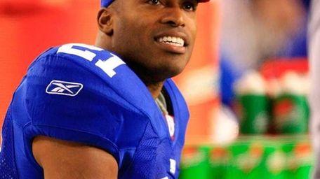 Tiki Barber #21 of the New York Giants