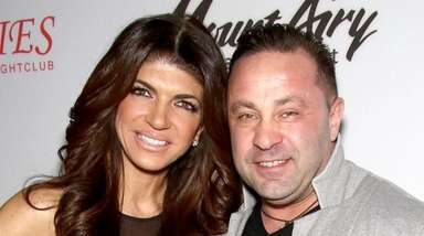 Teresa and Joe Giudice attend a Mount Airy