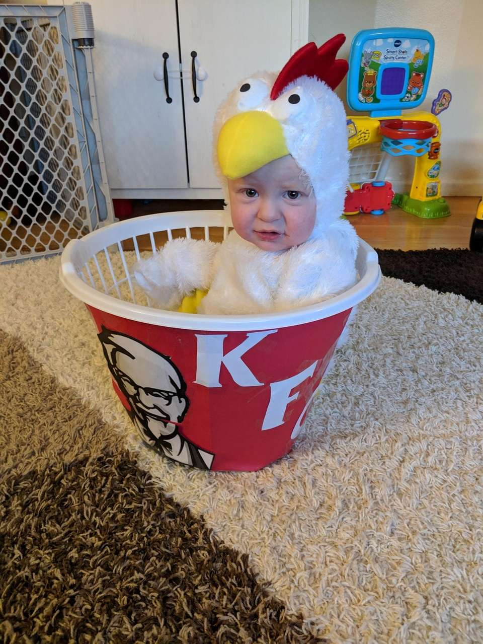 KFC chicken on Halloween!