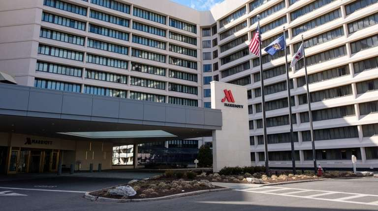 The Marriott hotel in Uniondale, seen here on