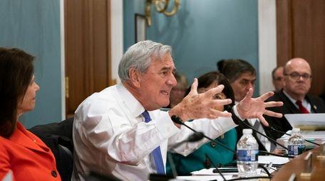 Rep. Richard Nolan, D-Minn., argues in opposition as