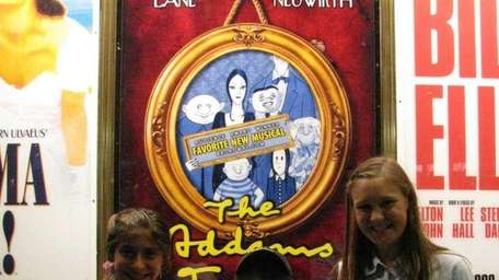Kidsday reporters Ariana Kerantzas and Alex Manning with