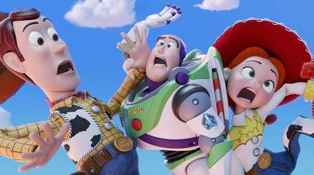 """In """"Toy Story 4,"""" everyone's favorite pull-string cowboy"""