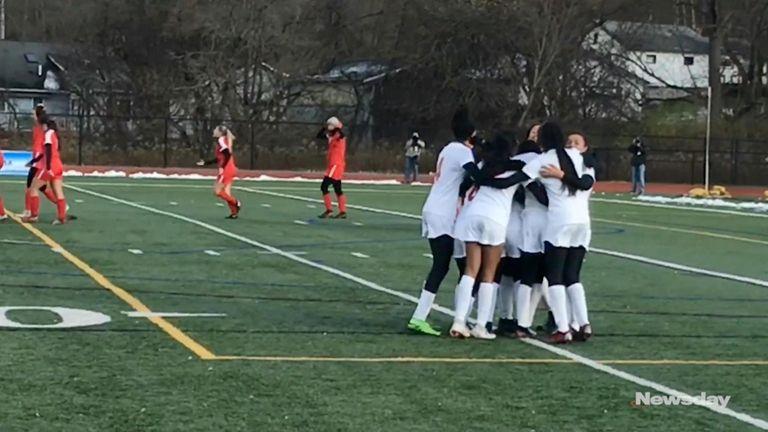 Valley Stream South defeated Jamesville-DeWitt, 1-0, off Kayla