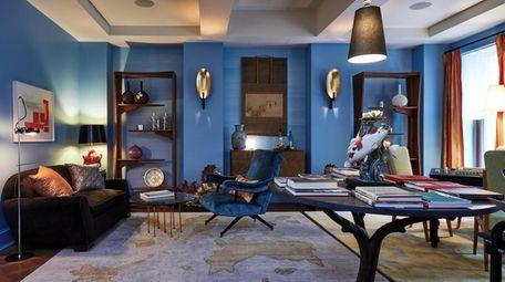 Perry Sayles Interior Design room.