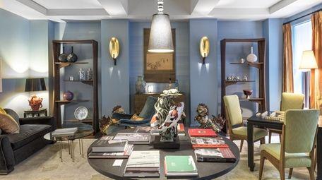 Perry Sayles Interior Design's room.