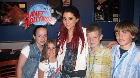 Actress Ariana Grande from the Nickelodeon show,
