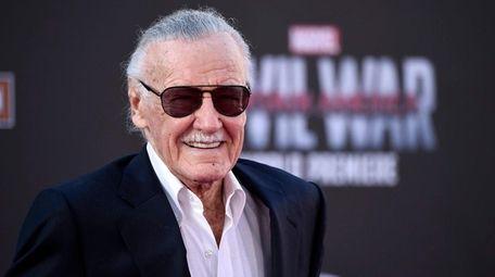 Stan Lee in Los Angeles on April 12,