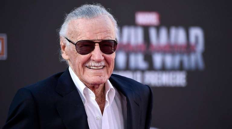 Stan Lee in Los Angeles on April 12,