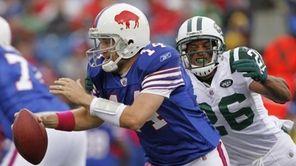 New York Jets defender Dwight Lowery (26) sacks