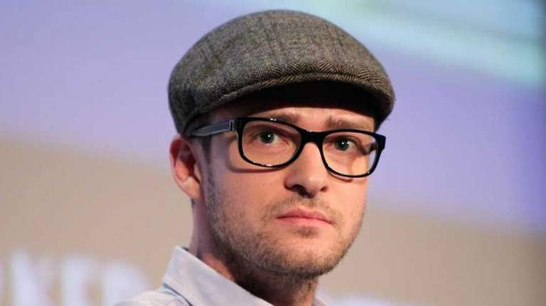 Justin Timberlake attends the 2010 New Yorker Festival