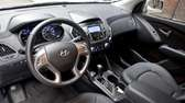 2010 Hyundai Tucson steering wheel image