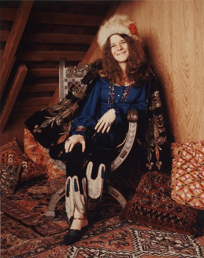 Janis Joplin (Jan. 19, 1943 - Oct. 4,