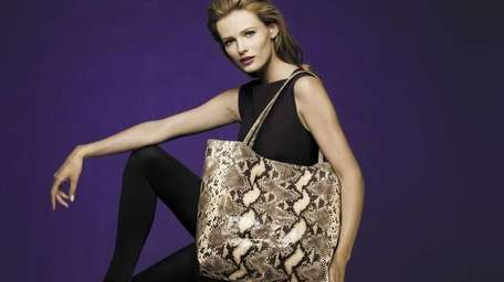 Get this snake print tote bag with a