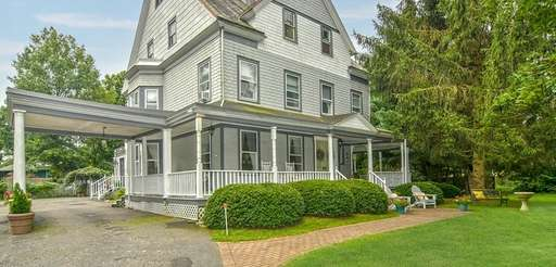 This Victorian home has four bedrooms and 3½