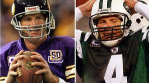 Brett Favre has had adventures in both New