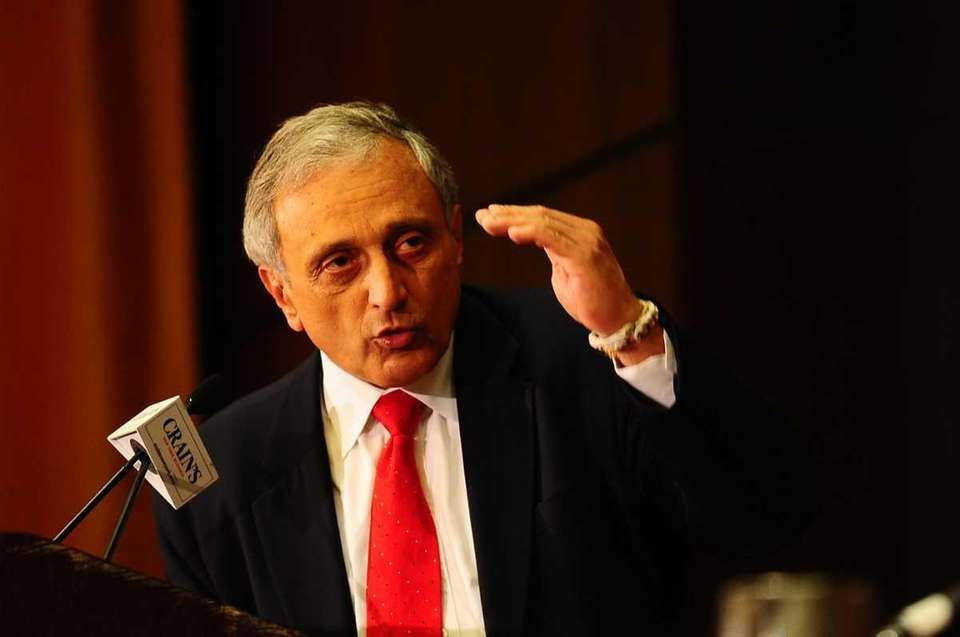 GOP gubernatorial candidate Carl Paladino speaks during a