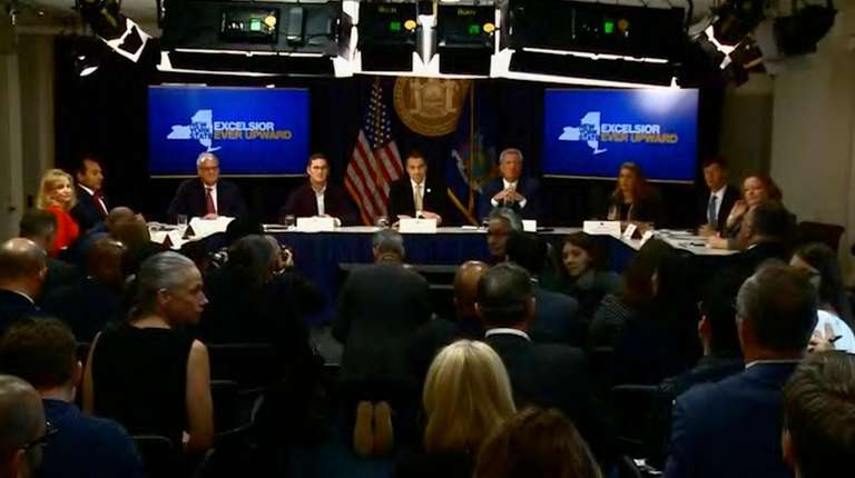 On Tuesday, Gov. Andrew M. Cuomo and New
