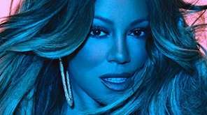 "Mariah Carey's ""Caution"" on Epic Records."