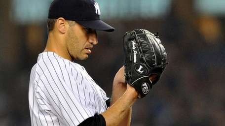 Yankees pitcher Andy Pettitte in a 2009 file