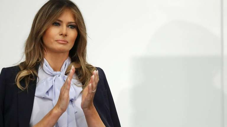 First lady Melania Trump on Aug. 20 in